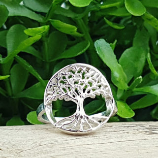 "Fingerring aus 925 Sterling Silber ""Glorya"""