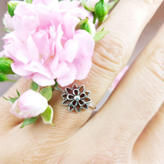 "Ring aus Sterling Silber ""Patrizia"""