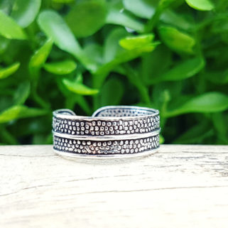 "Ring aus 925 Silber mit Ornament ""Nelly"""